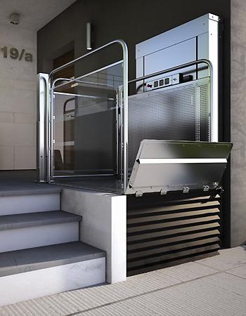 Salvaescaleras vertical silver de stairlift for Salvaescaleras vertical
